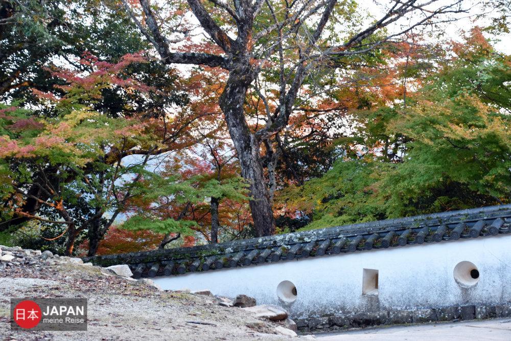 Unterwegs zu der Burg Bitchu-Matsuyama