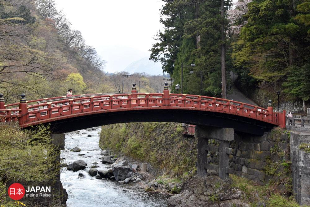 Die Shinkyo Brücke